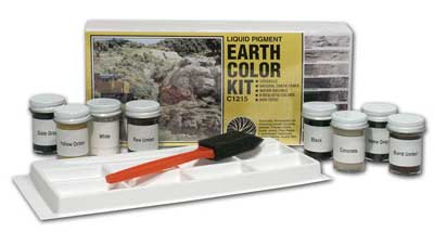 Liquid Pigment - Earth Color Kit (all 8 colors)