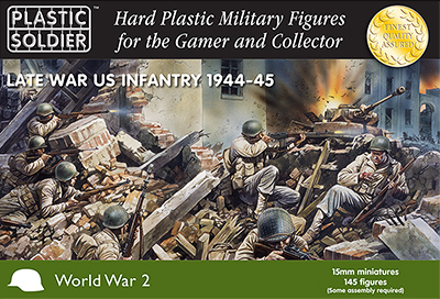 WWII Late War US Infantry 1944-45
