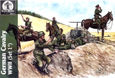 WWII German Cavalry
