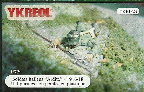 Italian Soldiers-Ardito, 1916-18 ONLY 2 AVAILABLE