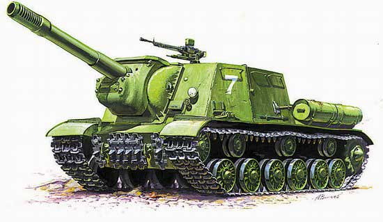 ISU152 Soviet Tank Destroyer