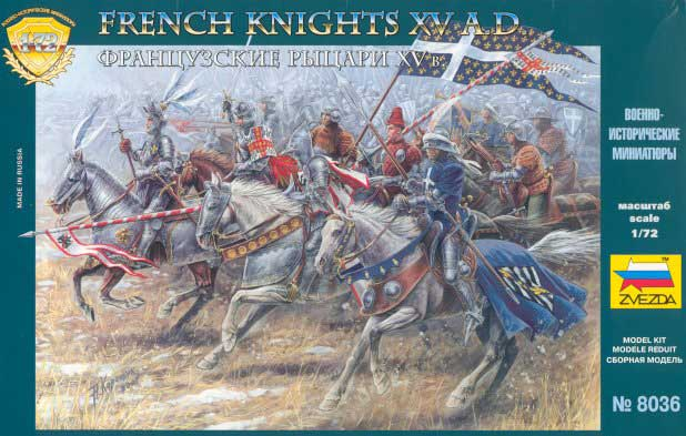 Medieval Heavy French Knights, 15th Century