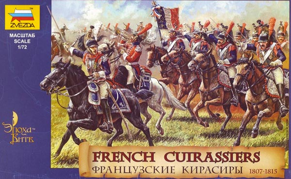 Napoleonic French Cuirassiers 1807-15