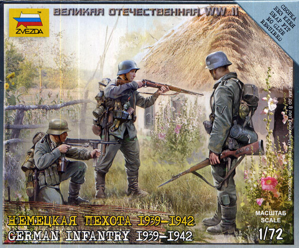 WWII German Infantry Eastern Front 1941