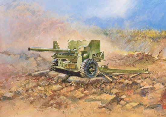 WWII British Anti Tank Gun, 6pdr MK-II (Limited Edition Re-issue)