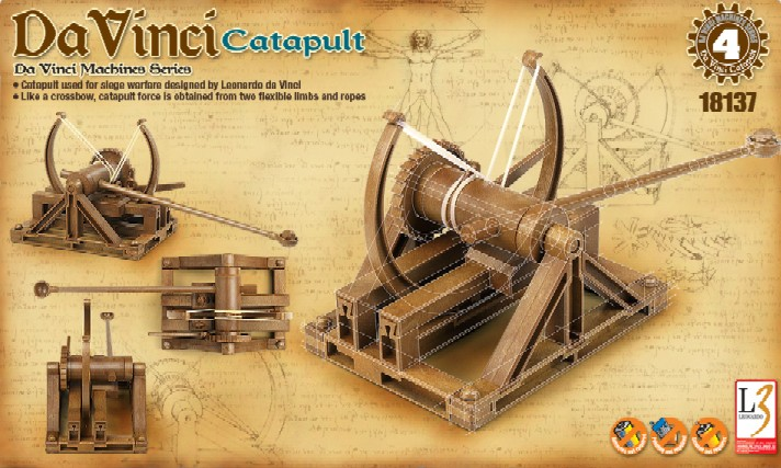 da vinci catapult instructions