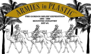 Gordon Relief Expedition 1884-85 Camel Infantry Set 1