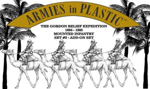 Gordon Relief Expedition 1884-85 Camel Infantry Set #2
