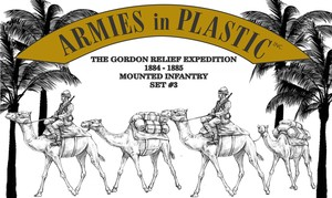 Gordon Relief Expedition 1884-85 Camel Infantry Set 3