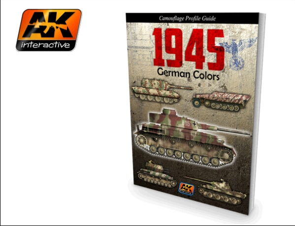 AFV 1945 German Colors Camouflage Profile Guide