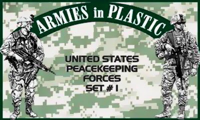 United States Peacekeeping Forces, Set #1