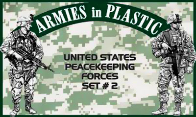 United States Peacekeeping Forces, Set #2