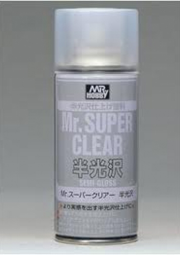 Mr. Super Clear Semi-Gloss Spray (170ml)