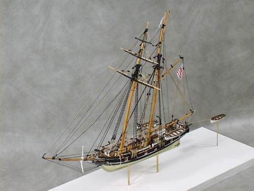 USS Revenue Cutter Alexander Hamilton Sailing Ship