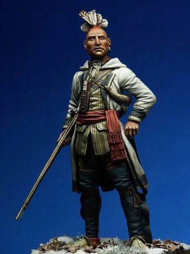 The Militiaman or The Allied Woodland Indian