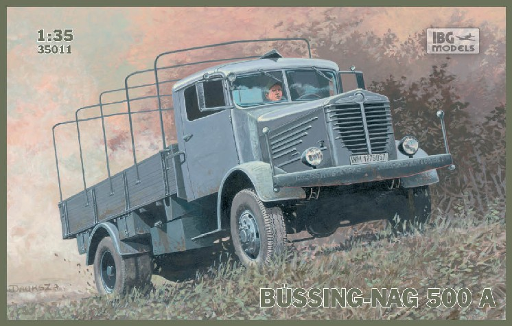 Bussing-Nag 500A Canvas-Type Stake Body Truck