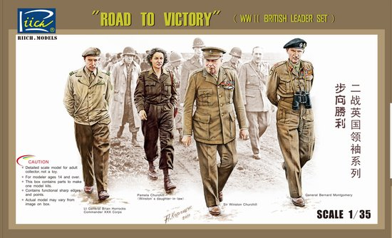 Road to Victory - WWII British Leaders