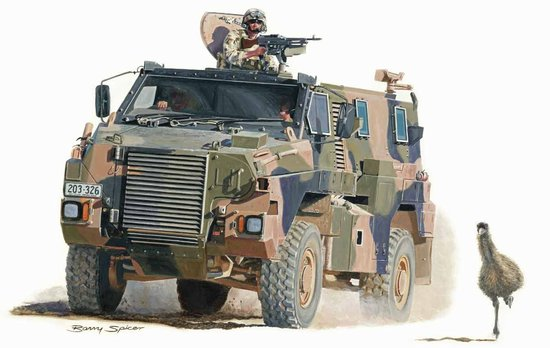Bushmaster Protected Mobility Vehicle - Royal Australian Army