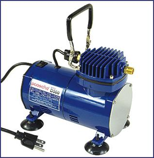 Paasche Model D500 Air Compressor