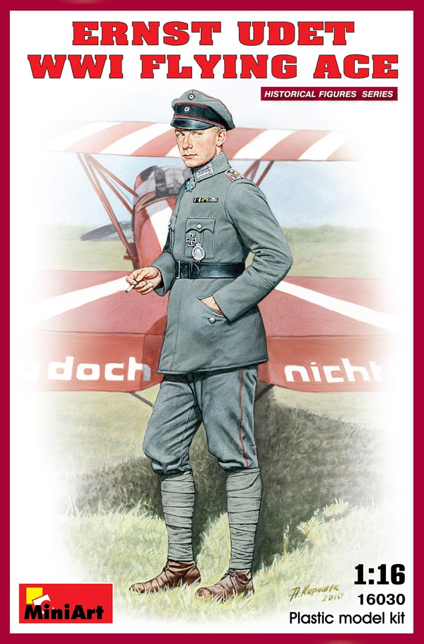 WW I German Flying Ace- Ernst Udet