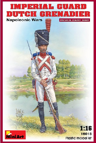 Imperial Guard Dutch Grenadier Napoleonic Wars