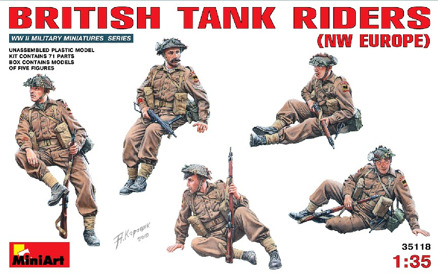 Michigan Toy Soldier Company : MiniArt Models - WWII British