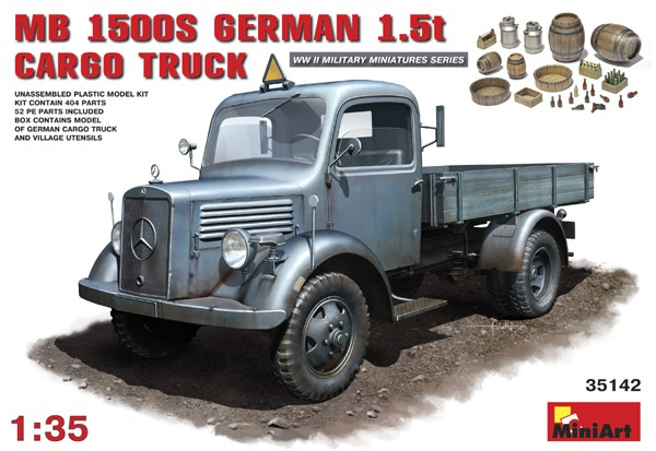WWII German L1500S 1.5-Ton 4x2 German Cargo Truck
