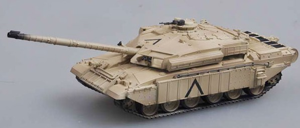 Challenger I Tank Iraq 1991 (Built-Up Plastic) (New Tool)