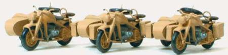 German Reich Motorcycles w/Sidecars 1939-45