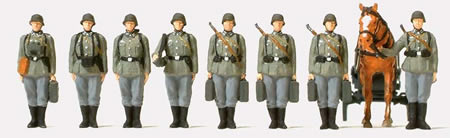 German Reich Infantry Riflemen w/Mortar 1939-45