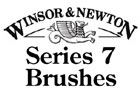 Winsor and Newton Series 7 Brushes and Cleaners