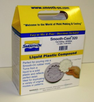 Smooth Cast 320 Fast Setting Urethane Liquid Plastic Casting Compound 2-Part