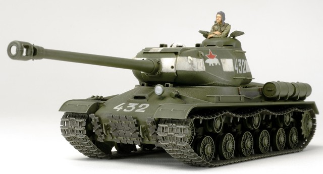 WW2 Russian JS2 Model 1944 ChKz  Heavy Tank