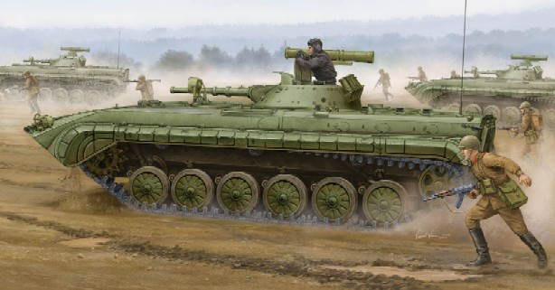 Soviet BMP1P Infantry Fighting Vehicle