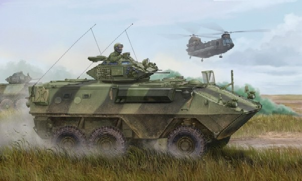 Canadian Grizzly 6x6 Armored  Vehicle General Purpose - AVGP