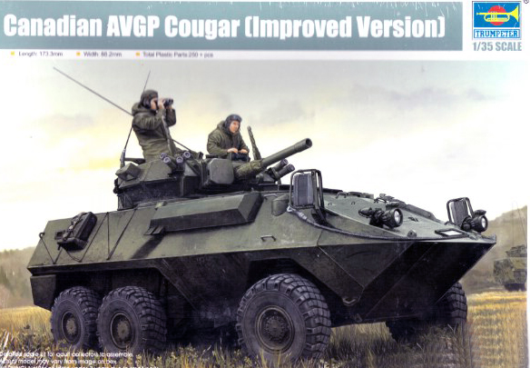 Canadian Cougar 6x6 Armored Vehicle General Purpose (AVGP) Improved Version