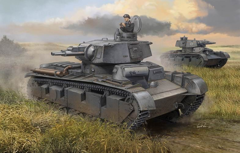 German NBFZ - New Construction - Type 1 Heavy Tank