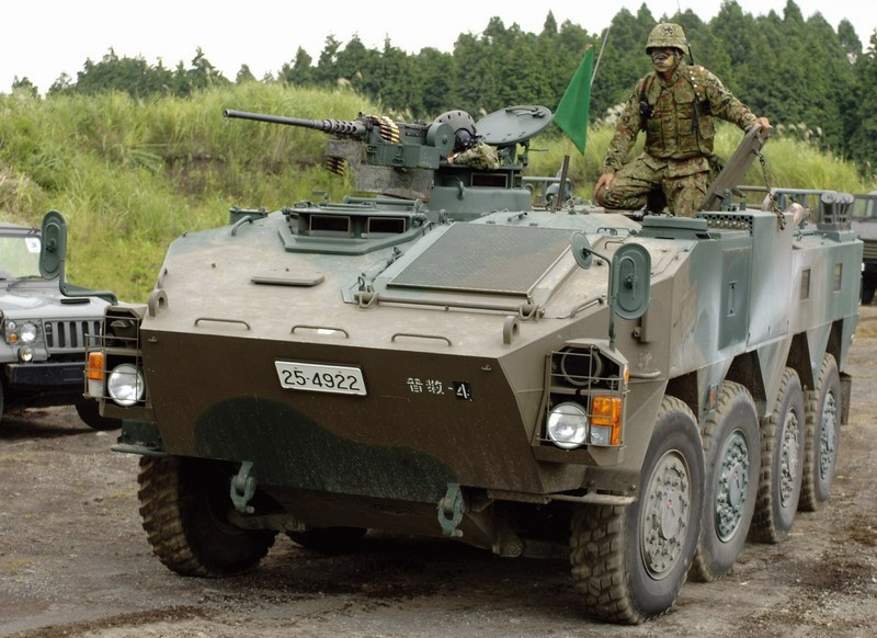 JGSDF Type 96 WAPC B Armored Personnel Carrier