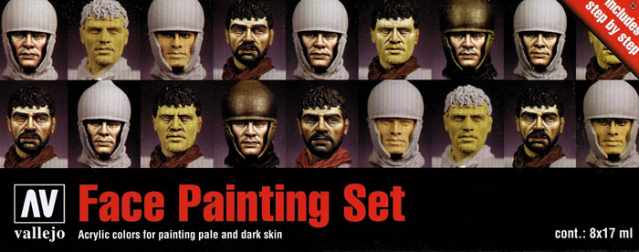 Vallejo Model Color - Face Painting Set