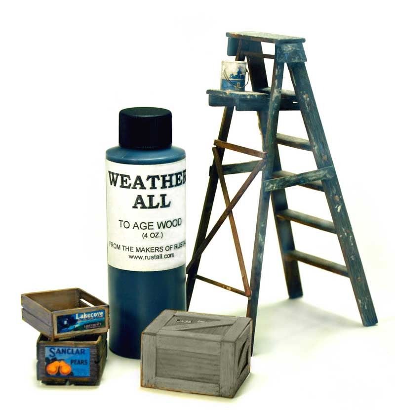 Weatherall for Aging Wood without Warping 4oz. Bottle