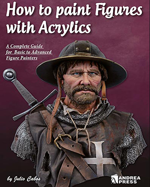 How to Paint Figures with Acrylics - A Complete Guide for Basic to Advanced Figure Painters