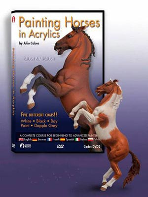 Andrea Painting Horses in Acrylics DVD