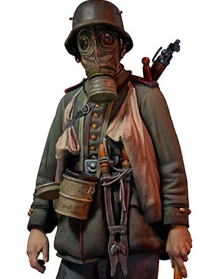 Stormtrooper, 1917 by Andrea Miniatures