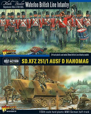 Warlord Games 28mm Plastic AFV & Figures