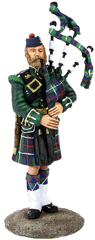 The Museum Collection: 78th Highland Regiment Piper, 1870