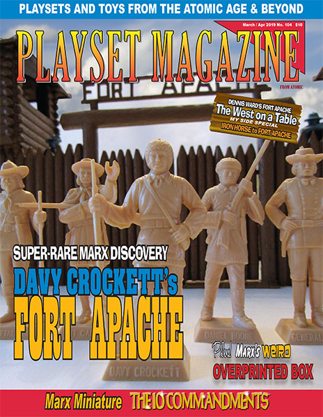 Playset Magazine Issue 104 The Lost Set Davy Crockett At Fort Apache