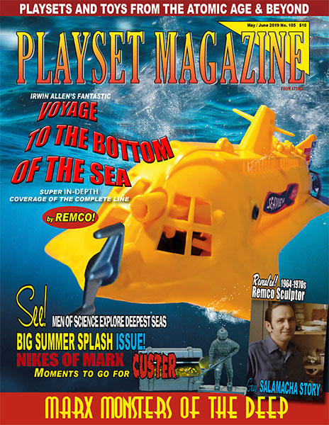 Playset Magazine Issue 105: Remcos Voyage To The Bottom Of The Sea!!