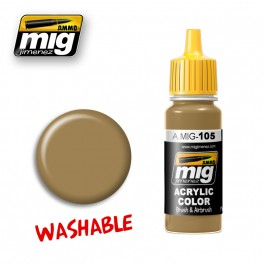 Washable Paint- Dust (RAL 8000)