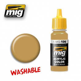 Washable Paint-  Sand (RAL 8020)