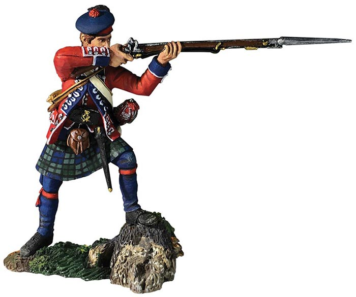 Clash of Empires: 42nd Royal Highland Regiment Battalion Coy Standing Firing No. 2 1760-63
